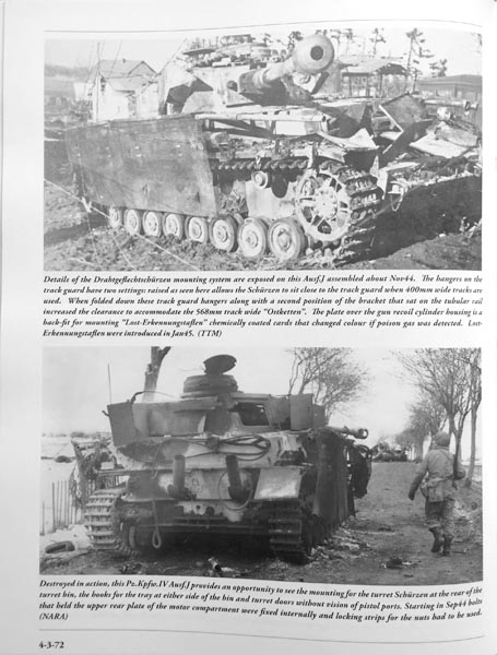 Panzer Tracts No.4-3 Pz.Kpfw.IV Ausf.H and J