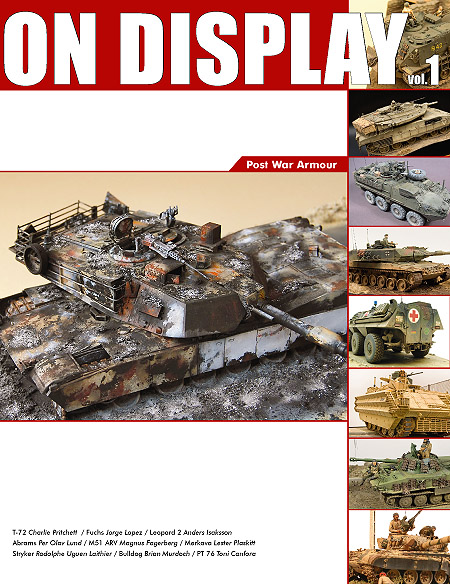 On Display Vol.1 - Modern armour tank modelling book