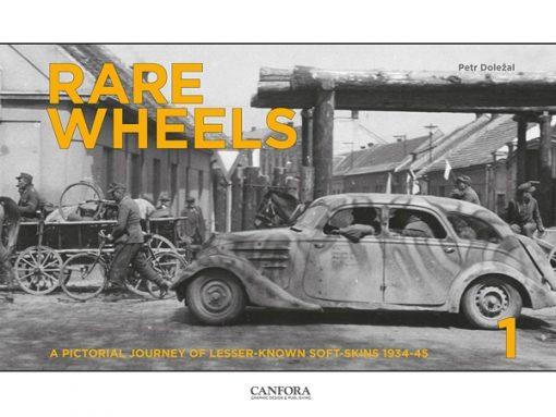 Rare Wheels Vol.1 - WW2 vehicles book