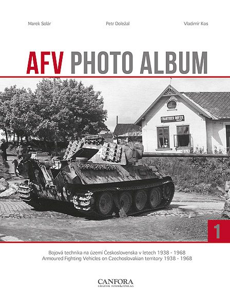 AFV Photo Album Vol.1 - WW2 Panzer tank book