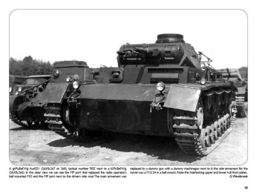 Fotos from the Panzertruppen - WW2 Panzer book
