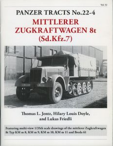 Panzer Tracts No.22-4 - Sd.Kfz.7
