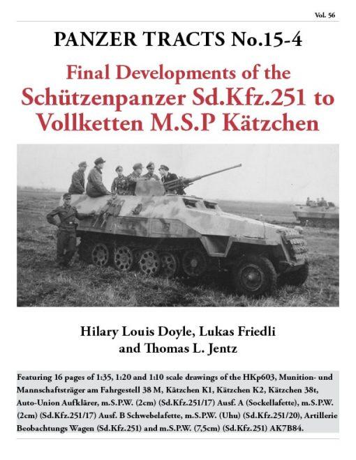 Panzer Tracts No. 15-4 - Schutzenpanzer sd.kfz 251 Book