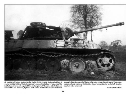 Panzerwrecks 8: Normandy 1 - WW2 Panzer book. Panther tank