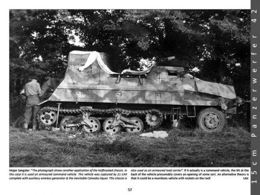 Panzerwrecks 8: Normandy 1 - WW2 Panzer book. Panzerwerfer 42