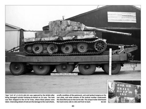 Panzerwrecks 11: Normandy 2 - WW2 Normandy Panzer book. Tiger tank