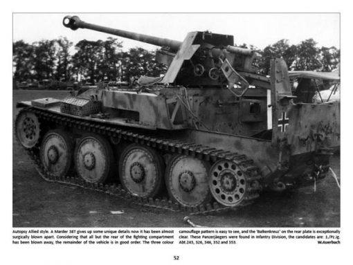 Panzerwrecks 11: Normandy 2 - WW2 Normandy Panzer book. Marder 38T