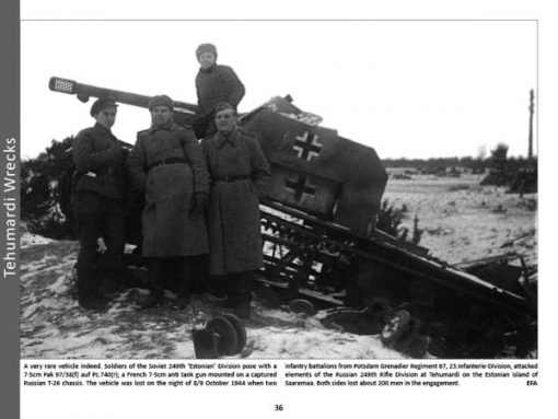 Panzerwrecks 14: Ostfront 2 - WW2 Panzer book. Beutepanzer