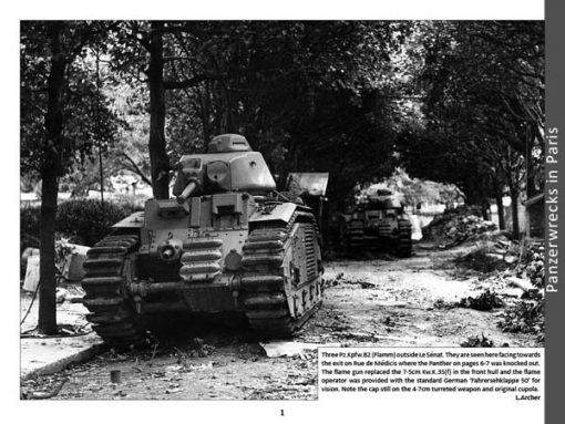 Panzerwrecks 15 - WW2 Panzer book. Beutepanzer. Liberation of Paris