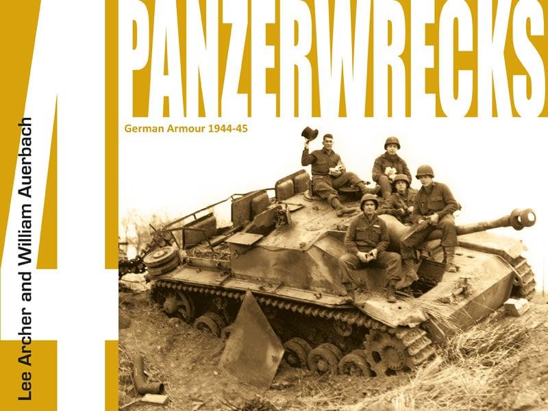 Panzerwrecks 4 - WW2 Panzer book.