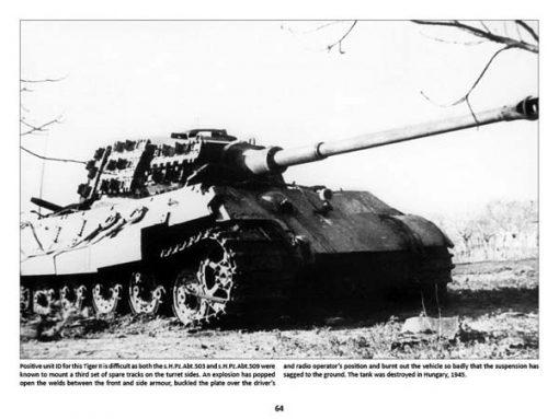 Panzerwrecks 7: Ostfront - WW2 Panzer book. Tiger II tank