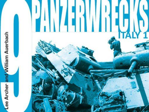 Panzerwrecks 9: Italy 1 - WW2 Panzer book