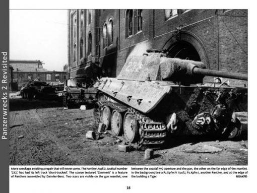 Panzerwrecks X - WW2 Panzer book. Panther tank