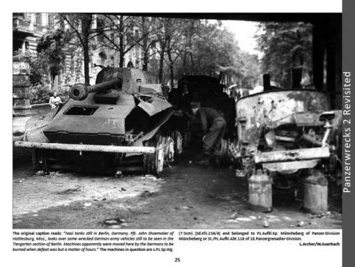 Panzerwrecks X - WW2 Panzer book. Sd.Kfz 234/4 Berlin