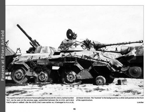 Panzerwrecks X - WW2 Panzer book. Sd.Kfz 234/2 Puma