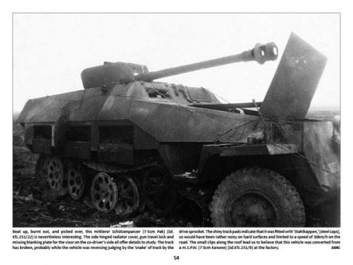 Panzerwrecks X - WW2 Panzer book. Sd.Kfz 251/22