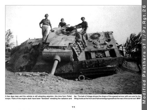 Panzerwrecks 1 - WW2 Panzer book. Panther tank