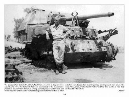Panzerwrecks 1 - WW2 Panzer book. Elefant