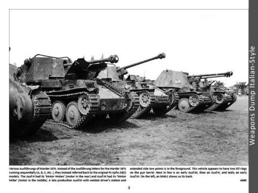 Panzerwrecks 13: Italy 2 - WW2 Panzer book. Marder 38T