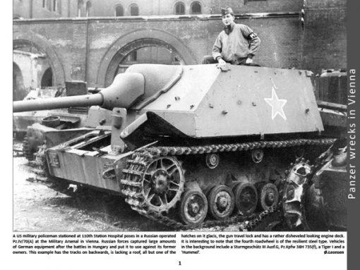 Panzerwrecks 2 - WW2 Panzer book. Panzer IV/70(A)