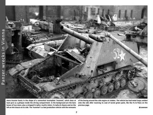 Panzerwrecks 2 - WW2 Panzer book. Hummel