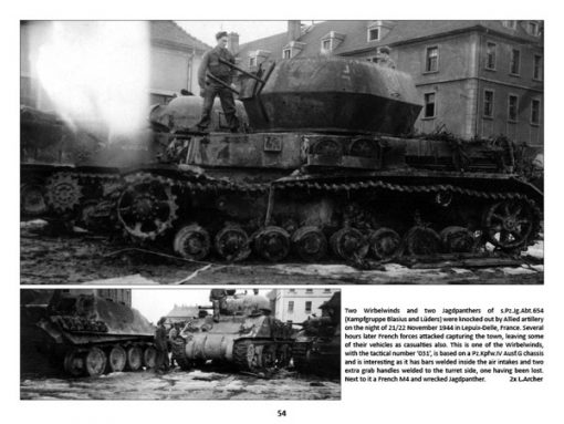 Panzerwrecks 2 - WW2 Panzer book. Flakpanzer IV Wirbelwind