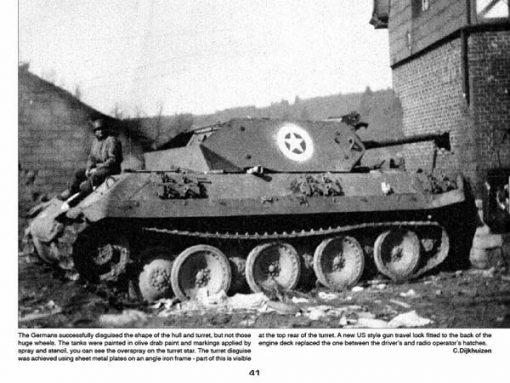 Panzerwrecks 4 - WW2 Panzer book. Ersatz M-10