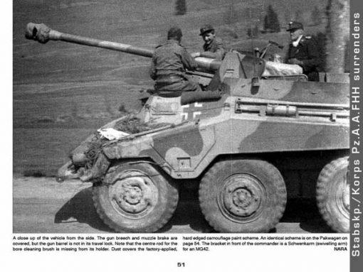 Panzerwrecks 4 - WW2 Panzer book. Sd.Kfz 234/4