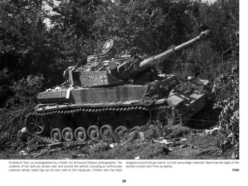 Panzerwrecks 17: Normandy 3 - WW2 Normandy Panzer book. Pz.Kpfw IV tank