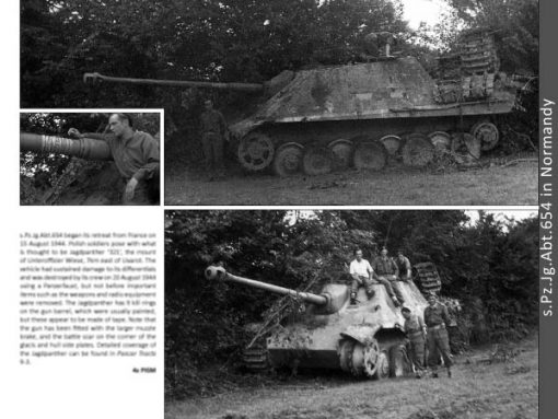 Panzerwrecks 17: Normandy 3 - WW2 Normandy Panzer book. Jagdpanther
