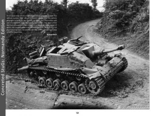 Panzerwrecks 17: Normandy 3 - WW2 Normandy Panzer book. Sturmgeschütz III