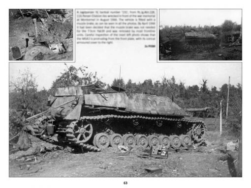 Panzerwrecks 17: Normandy 3 - WW2 Normandy Panzer book. Jagdpanzer IV