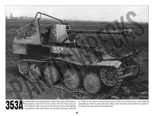 Panzerwrecks 20: Ostfront 3 - WW2 Lake Balaton Panzer wrecks book. Marder 38T