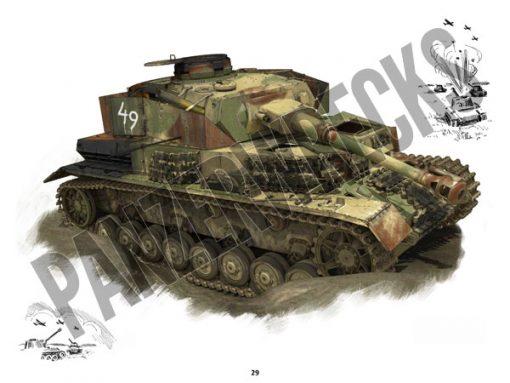 Panzerwrecks 20: Ostfront 3 - WW2 Lake Balaton Panzer wrecks book. Pz.Kpfw IV tank