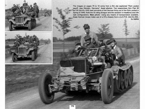 Panzerwrecks 5 - WW2 Panzer book. Sd.Kfz 250