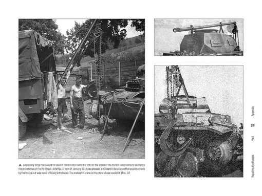 Repairing the Panzers Vol.1 - WW2 German Panzer book