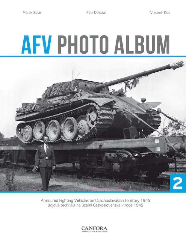 AFV Photo Album Vol.2 - WW2 Panzer tank book