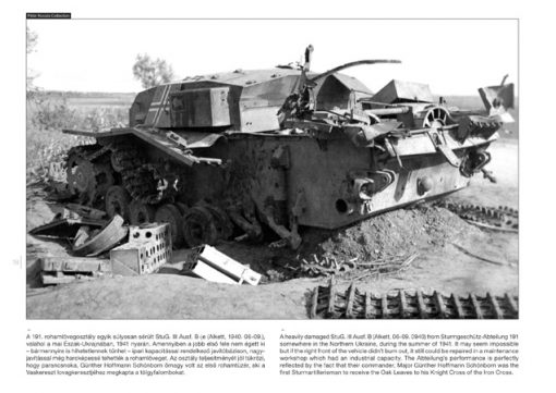 Sturmgeschütz III on the Battlefield 3 - Sturmgeschütz III tank book