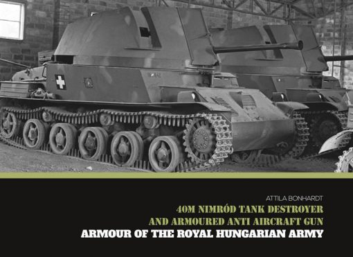 40M Nimród Tank Destroyer - WW2 tank book