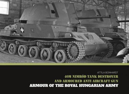 40M Nimród Tank Destroyer - WW2 tank book