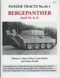Panzer Tracts No. 16-1 Bergepanther Ausf.D, A, G