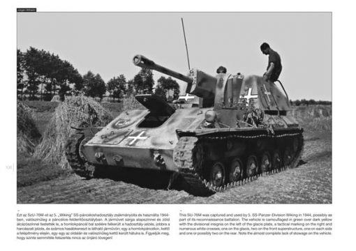 SU-76 on the Battlefield - Russian tank book