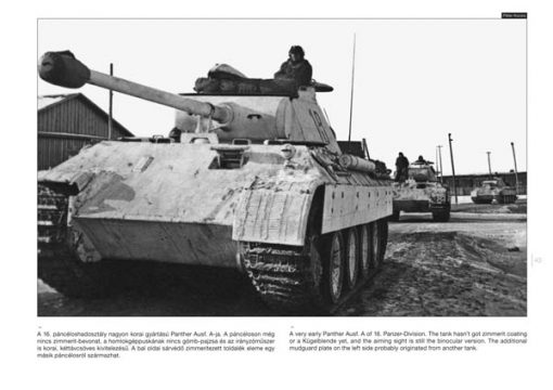 Panther on the Battlefield 2 - WW2 panzer book