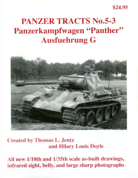 Panzer Tracts No. 5-3 - Panther Ausf.G