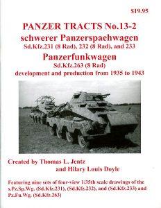 Panzer Tracts No. 13-2 - schwerer Panzerspähwagen