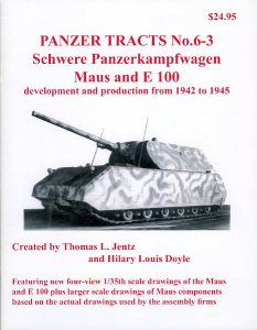 Panzer Tracts No.6-3 - Pz.Kpfw. Maus & E-100