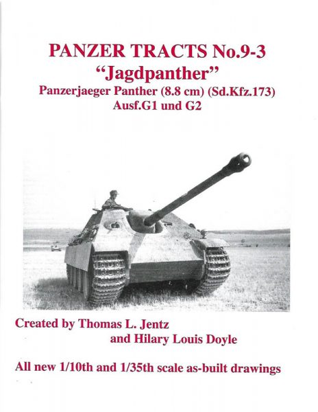Panzer Tracts No.9-3 - Jagdpanther