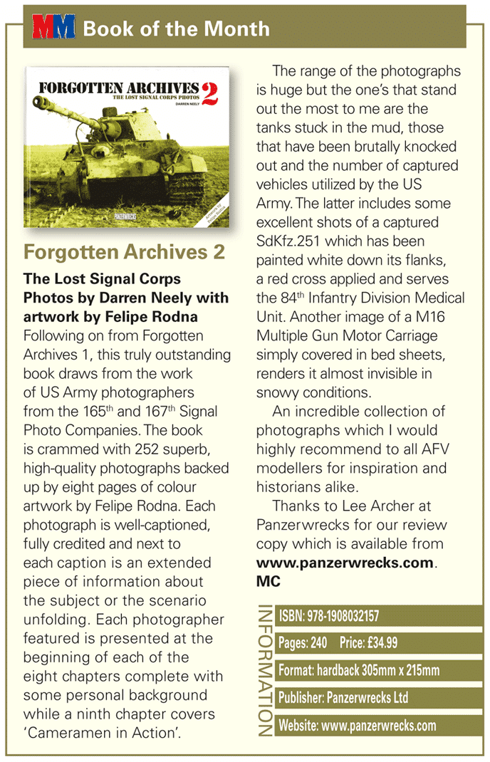 Forgotten Archives 2 Review in Military Modelling