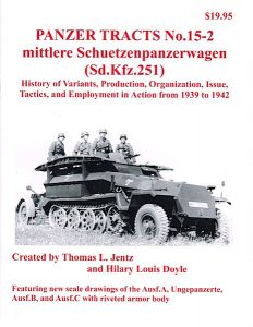 Panzer Tracts No.15-2 - m.S.P.W. (Sd.Kfz.251)