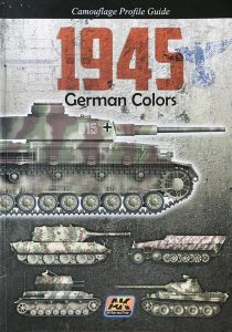 1945 German Colors book from AK-Interactive